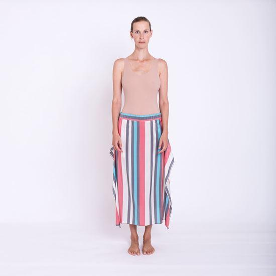 Obrázek z Hedvábná sukně proužek