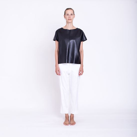 Picture of Leather t-shirt
