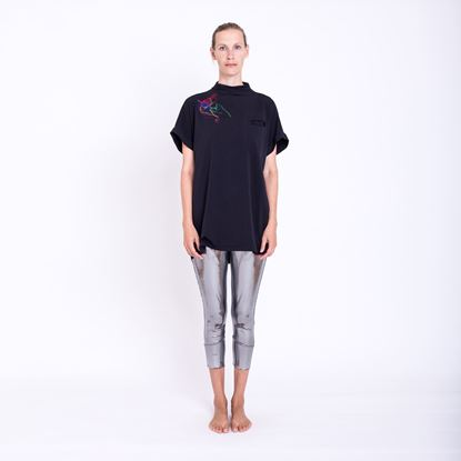Picture of Silver 3/4 leggins
