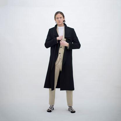 Obrázek Černý kabát MILANO