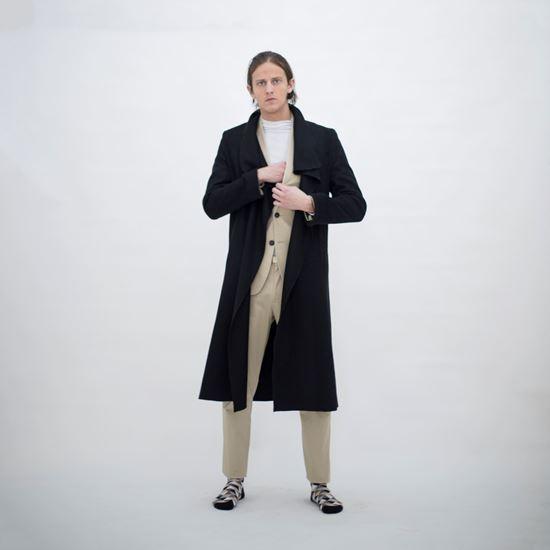 Obrázek z Černý kabát MILANO