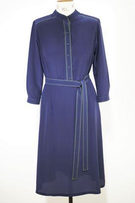Obrázek Hedvábné prošívané šaty