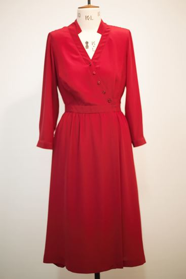 Picture of Assymetrical silk dress