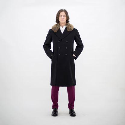 Obrázek Dvouřadý Vlněný kabát
