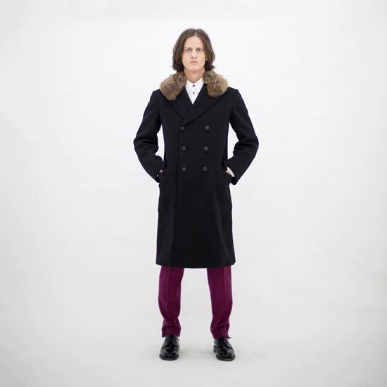 Obrázek z Dvouřadý Vlněný kabát