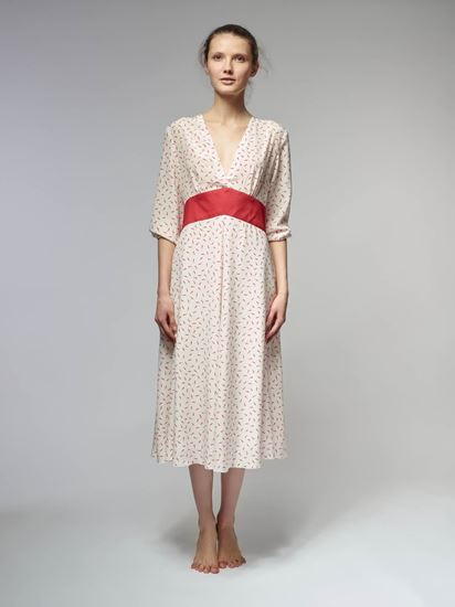 Picture of Silk midi dress