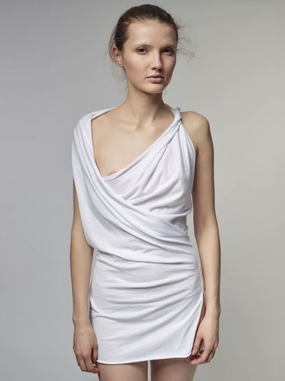 Picture of Asymetrical jersey dress