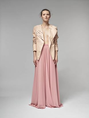 Picture of Long silk skirt