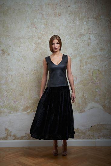 Picture of Velvet skirt