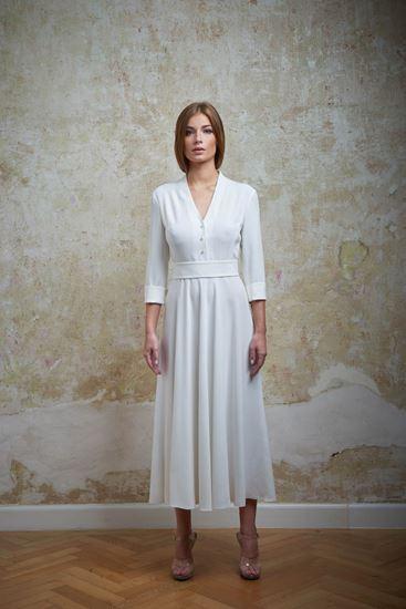 Picture of Midi silk dress