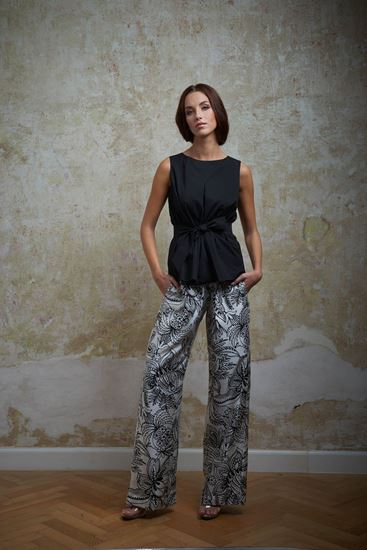 Picture of Silk pattern trousers