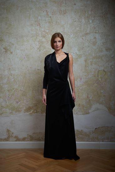 Picture of Evening velvet dress