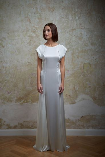 Picture of Silk wedding dress