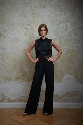 Picture of Silk black blouse