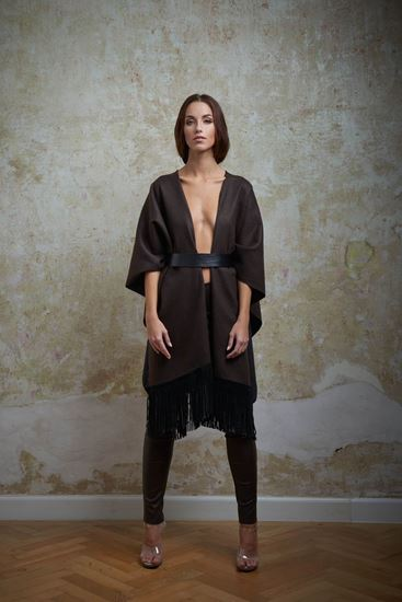 Picture of Wool poncho