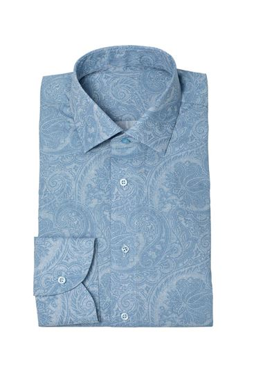 Picture of Shirt bespoke Jacquard
