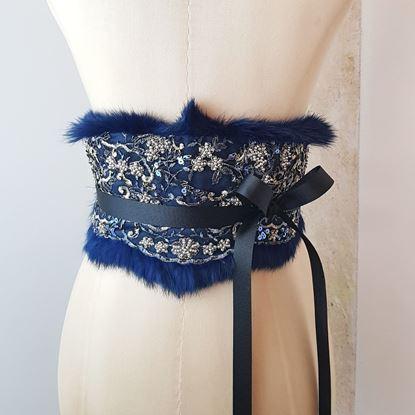 Obrázek Ledvinový pás modrý