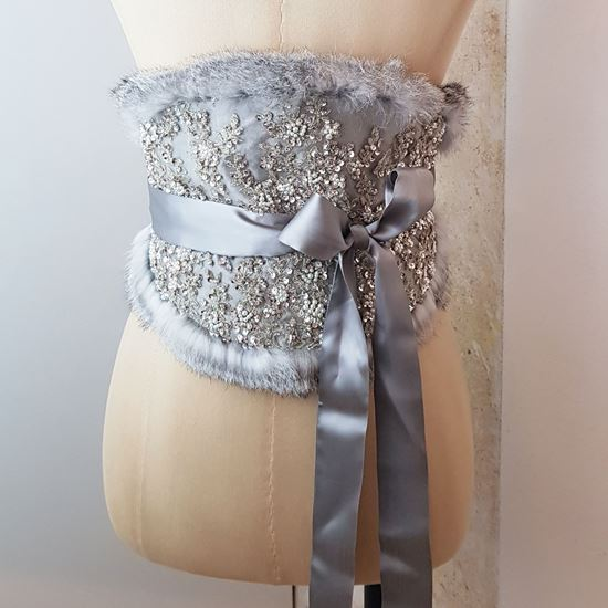 Picture of Waist belt silver