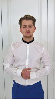 Obrázek Košile na míru se stojáčkem