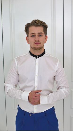 Obrázek z Košile na míru se stojáčkem