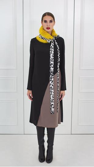 Obrázek z Hedvábné asymetrické šaty