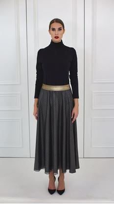Obrázek Hedvábná kolová sukně