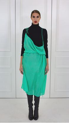 Picture of Silk spaghetti dress