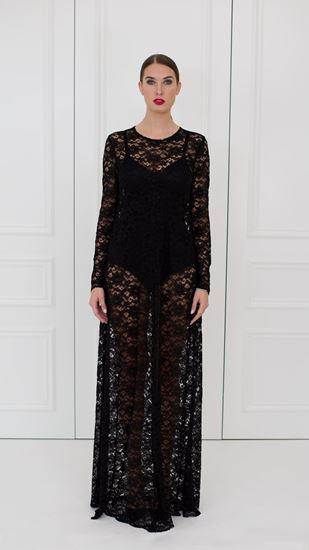 Picture of Evening lace dress