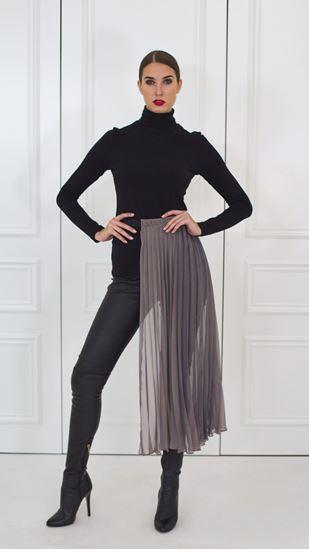 Obrázek z Plisé čtvrt sukně