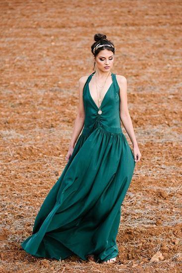 Obrázek z Smaragdové šaty Antique