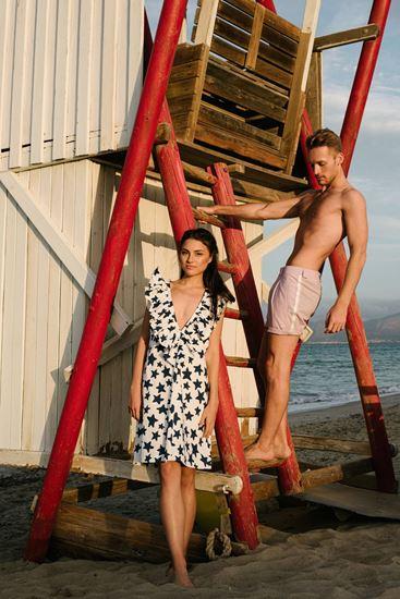 Obrázek z Hvězdičkové šaty s volánem