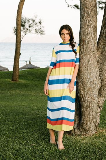 Picture of Circle striped dress