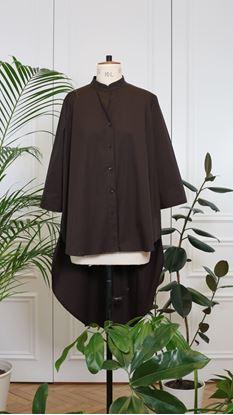 Obrázek Košile s frakem hnědá