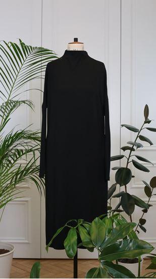 Picture of Turtleneck dress black