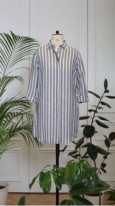 Obrázek Košile bílo-modrá