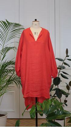 Obrázek Maxi šaty červené