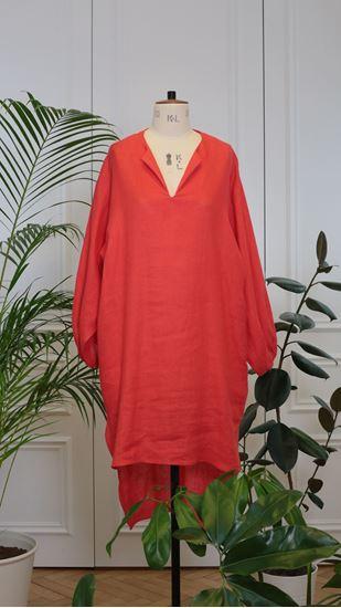 Obrázek z Maxi šaty červené