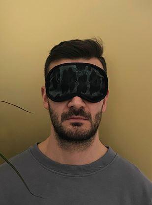 Picture of Men's eye mask cheetah
