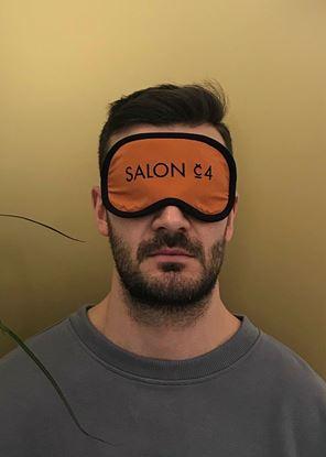 Obrázek Pánská oční maska oranžová