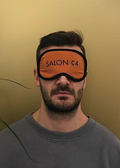 Obrázek z Pánská oční maska oranžová