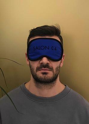 Obrázek Pánská oční maska modrá