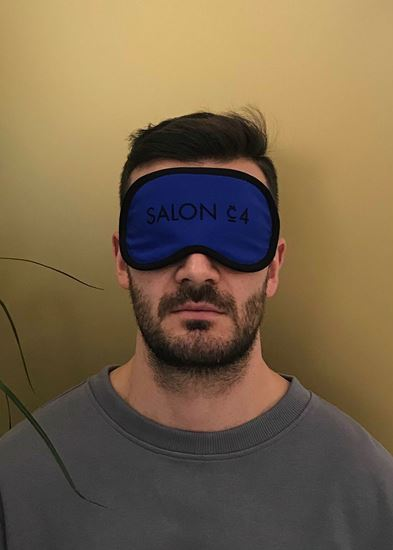 Obrázek z Pánská oční maska modrá