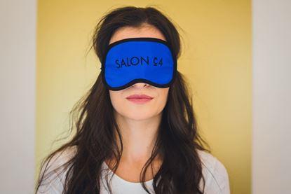 Obrázek Dámská  oční maska modrá