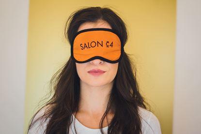 Obrázek Dámská  oční maska oranžová
