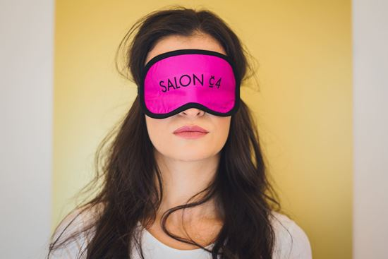 Picture of Women's eye mask pink