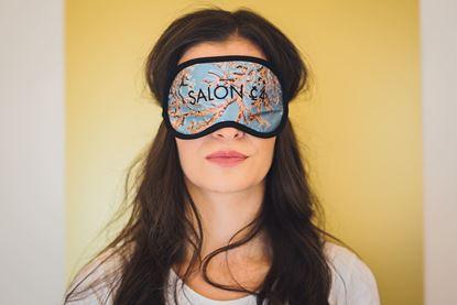 Obrázek Dámská  oční maska korál