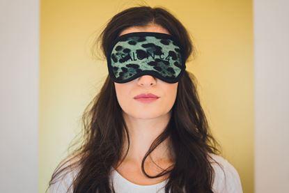Obrázek Dámská  oční maska gepard