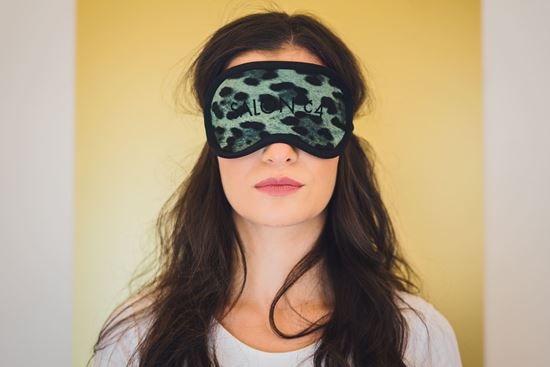 Picture of Women's eye mask cheetah