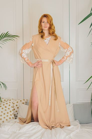 Picture of Gown with lase nude