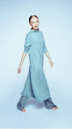 Obrázek Rolákové šaty mint